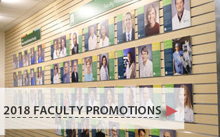 2018 Faculty Promotions
