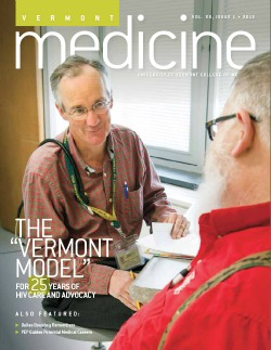Vermont Medicine Fall 2013 cover image